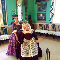 In the New Room of Mount Vernon