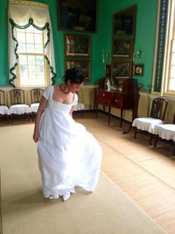 1798 Silk Gown