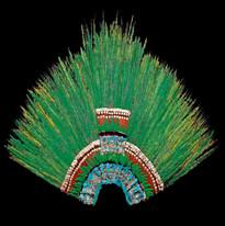 Moctezuma's headdress Weltmuseum Wien.jp