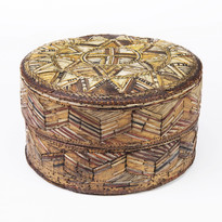 Quillwork box before 1792 Canadian Museu