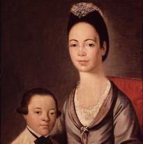 Sarah Rivera Lopez and son Gilbert Stuar