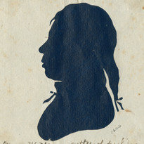 Moses Williams silhouette 1803 Library C