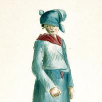 Von Phul creole woman 1818 MO History Mu