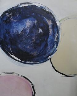 blauer Punkt