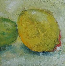 Zitrone 20x20cm