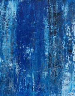 blau abgezogen