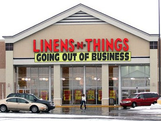 Gone – Where are the now? (Linens & Things, Circuit City, etc.)