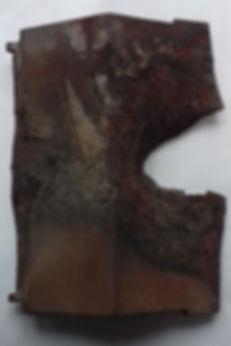 damaged stove baffle plat
