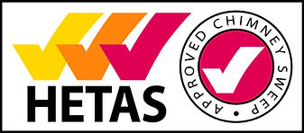 Cardiff hetas approved chimney sweep logo