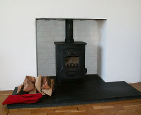 wood burning stove fitted in cardiff by philip lowe chimney sweep