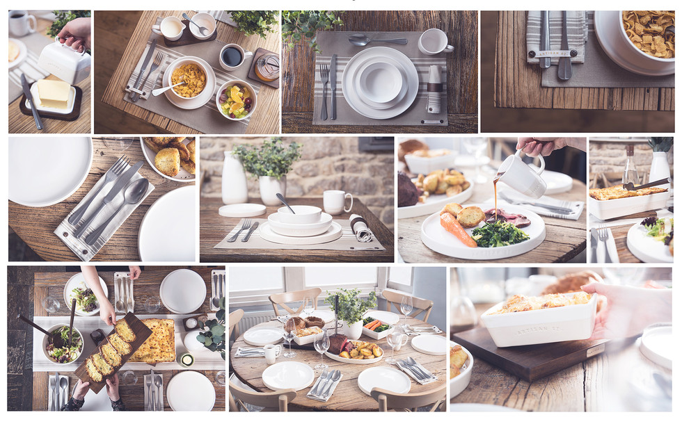 Artisan St  product range shot for captivate brands by Litherland Photo