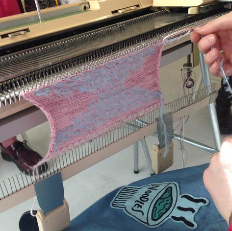 weaving-in