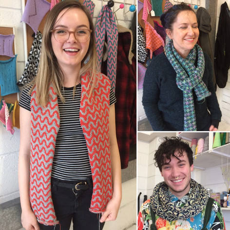 Scarves and snood!