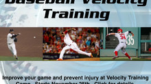 Velocity Training: Increase the speed and power in your throws from any position