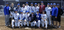 EDGE TAKES 2ND IN TRIPLE CROWN
