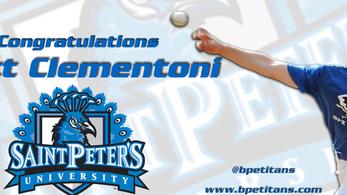 Congratulations Matt Clementoni!