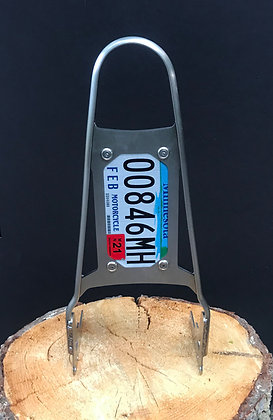 """The Original"" 20"" License Plate Holder sissy bar (Harley Touring)"