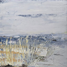 Marsh Grass | 7 x 7 | Oil on canvas