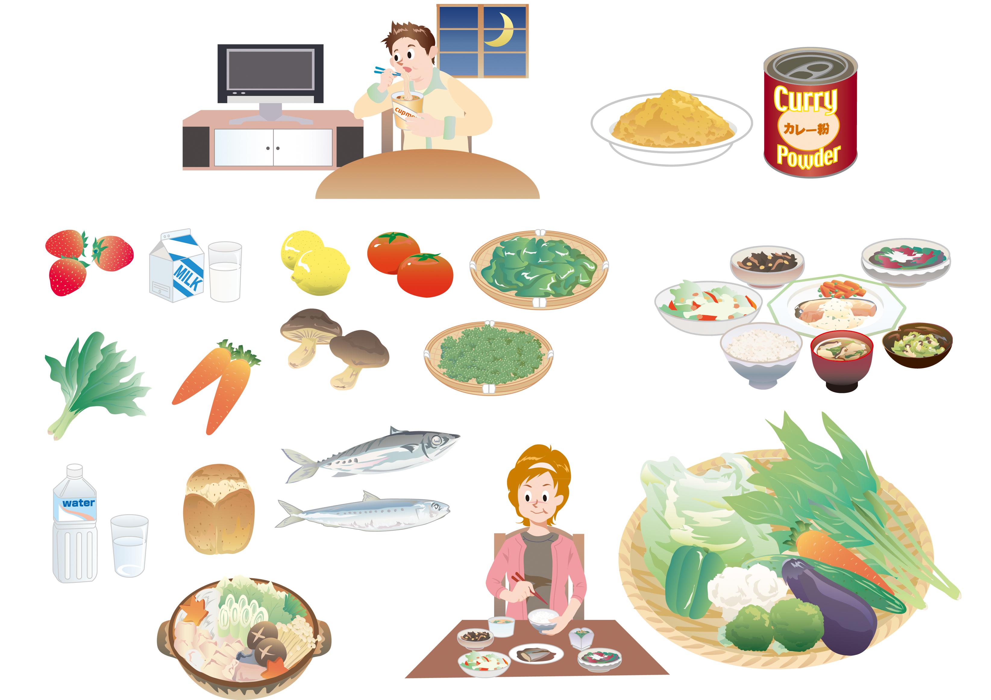 ダイエット食品-パンフ