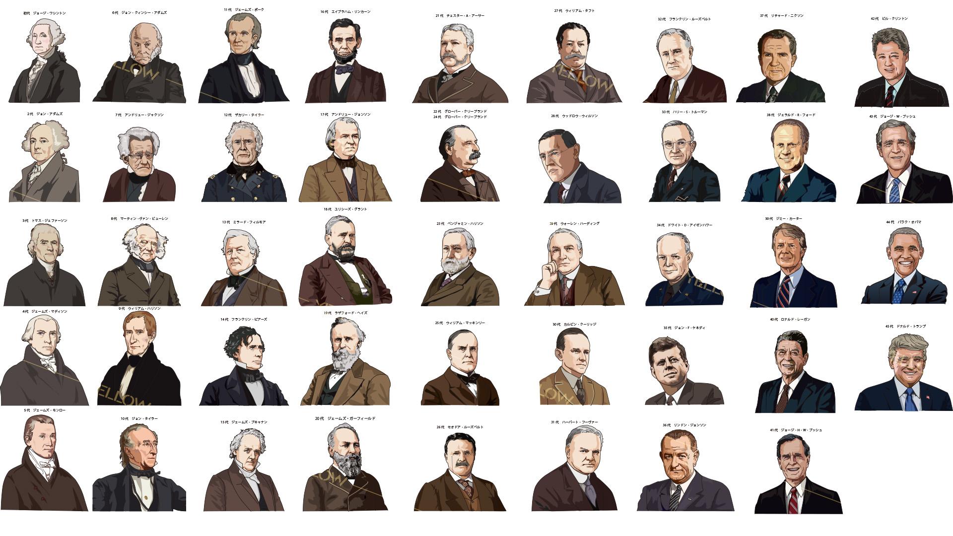 歴代アメリカ大統領