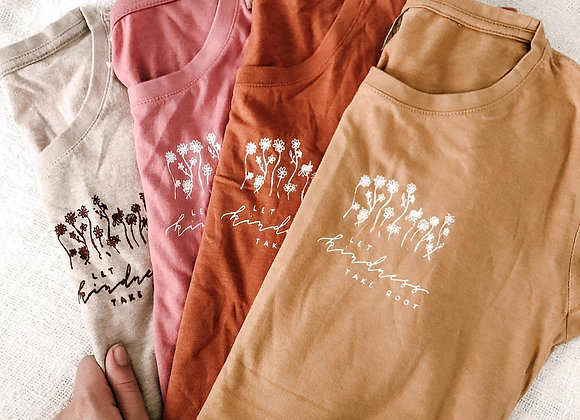 """""""Let Kindness Take Root"""" Fitted Mama Tee"""