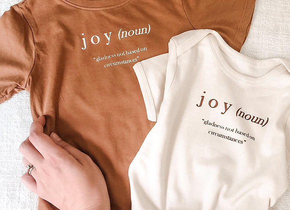"Definition of ""Joy"" Toddler Tee"