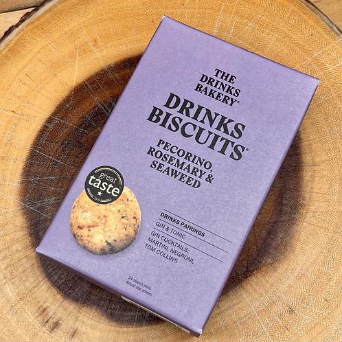 The Drinks Bakery Pecorino, Rosemary & Seaweed Biscuits