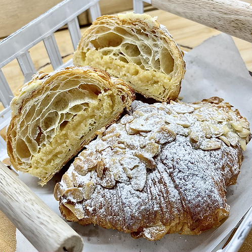 Almond Croissant by Wheatberry Bakery