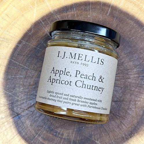 Mellis Apple Peach & Apricot Chutney