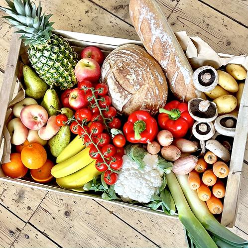 Bread + Fruit + Veg