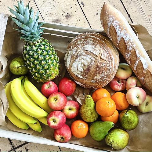 Bread + Fruit