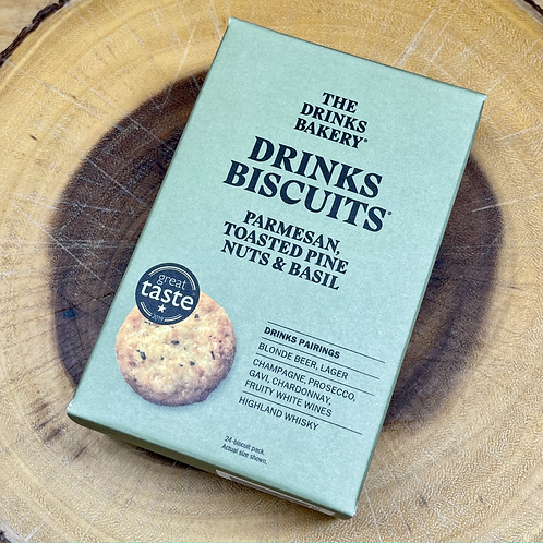 The Drinks Bakery Parmesan, Toasted Pine Nuts & Basil Biscuits