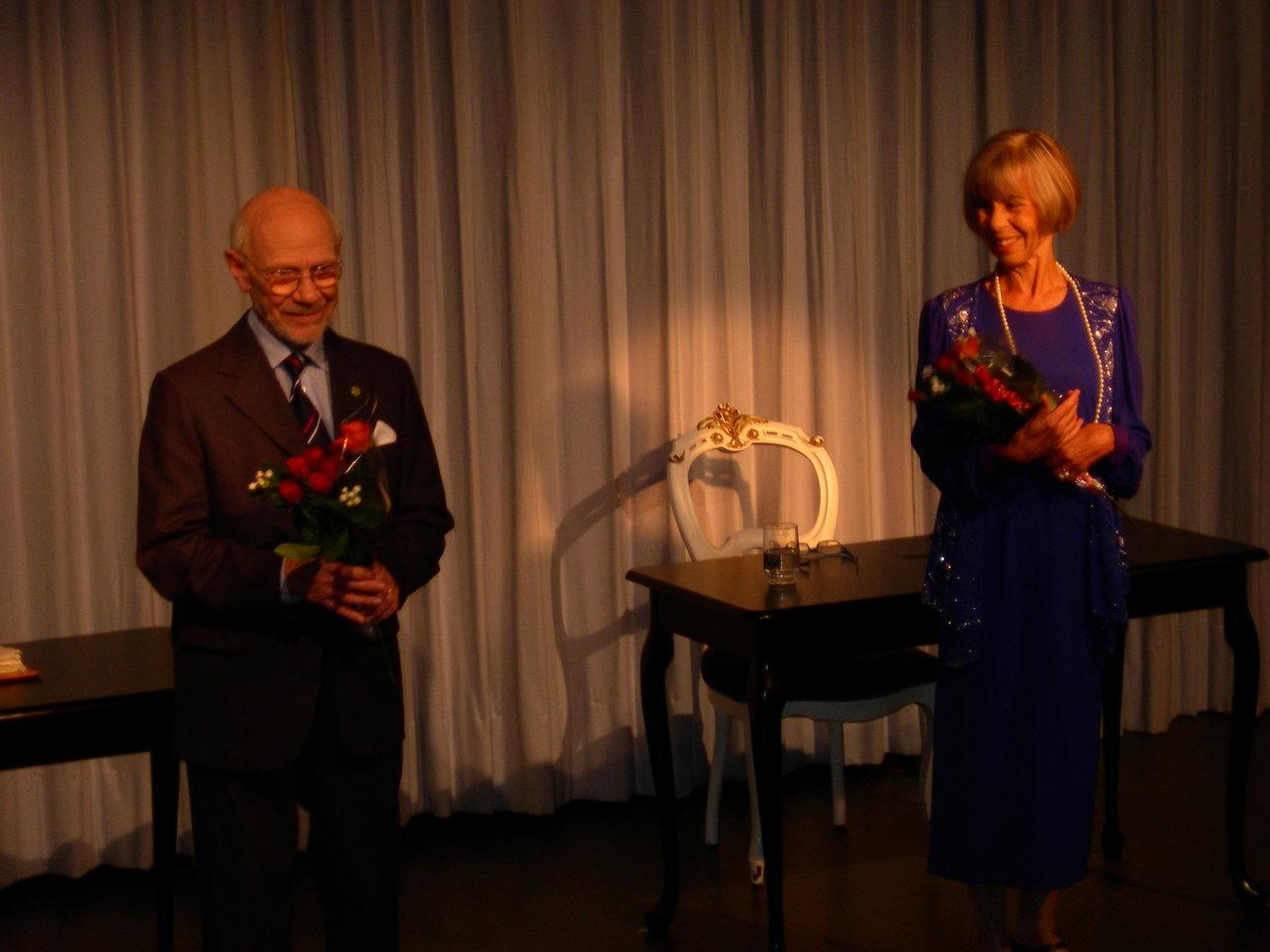 Efter tæppefald  Per Koch og Inge Høyvald