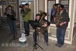 Reception 2 Half-Ton Brass Quartet