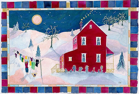 Exchange Gallery, Bloomsburg PA, Bob McCormick watercolor