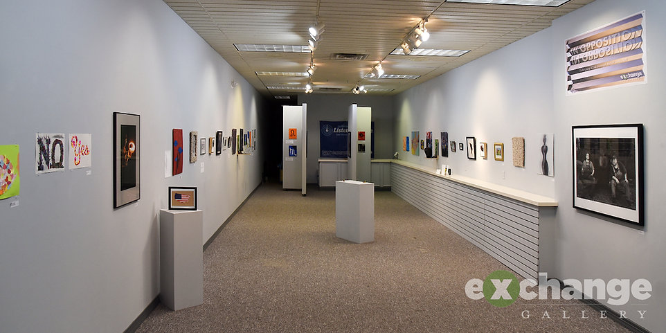 Exchange Gallery, Bloomsburg PA, In Opposition show
