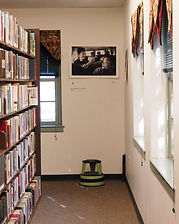 "Bloomsburg Public Library, ""Out of Many"", Scott Goldsmith photo, Bus ride"