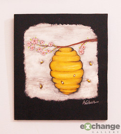 Heather Bieber -- Bees Nest