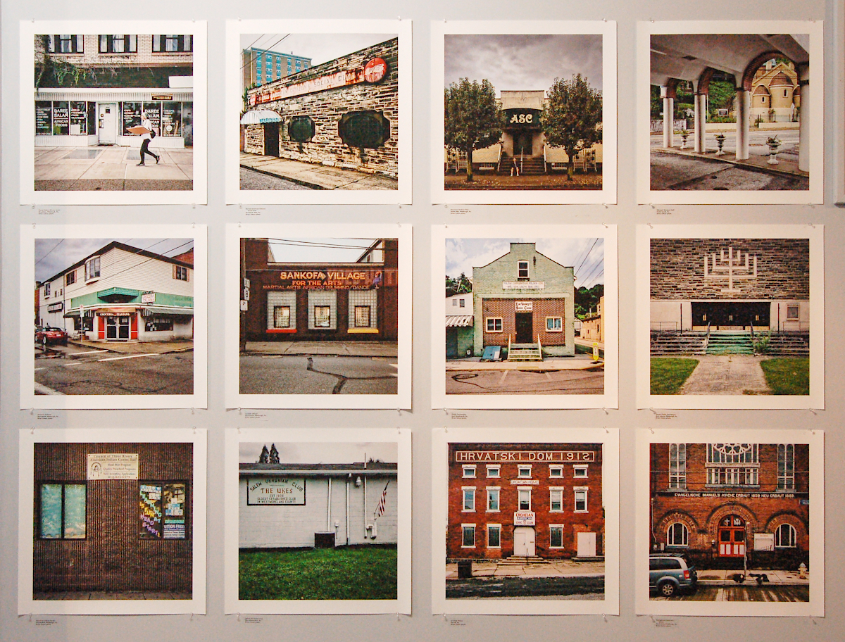 Brian Cohen photos -- Immigrants' buildings