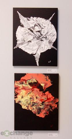 Amy Felegie acrylics