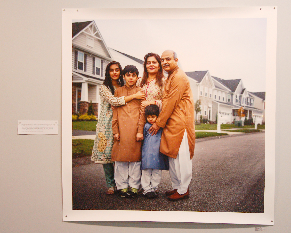 Lynn Johnson photo -- Family from Pakistan