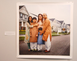 Lynn Johnson photo -- Family from Pakistan