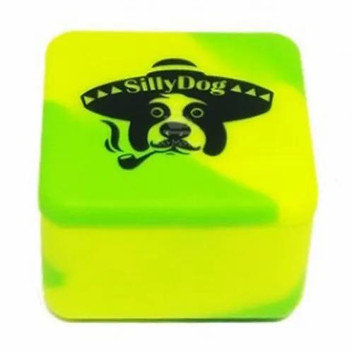Pote de Silicone Cubo 37ml Sillydog