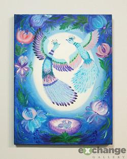 Larysa Sheremeta -- Traditional Ukrainian-style Painting