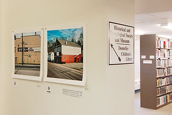 "Bloomsburg Public Library, ""Out of Man"", Brian Cohen photos"