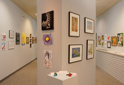 Quarantine show gallery center