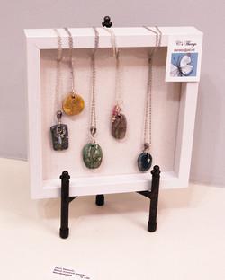 Chris Stametz -- handpainted jewelry