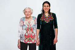 "Annie O'Neill photo, ""Out of Many"", Gertrud Wunder and Meryembibi Mammedova"