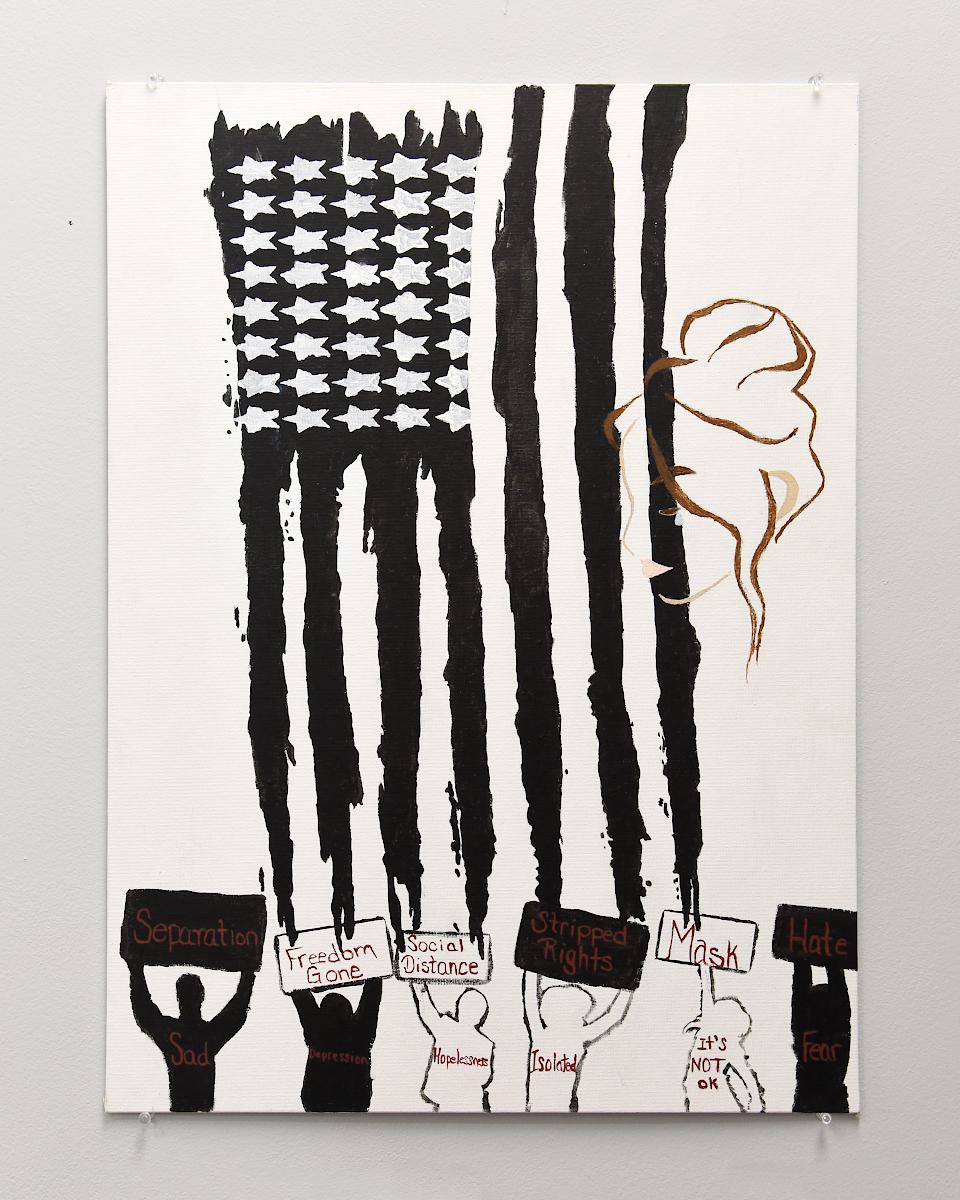 Savannha Shoemaker -- America Falling Apart