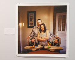 Lynn Johnson photo -- Family from Iran